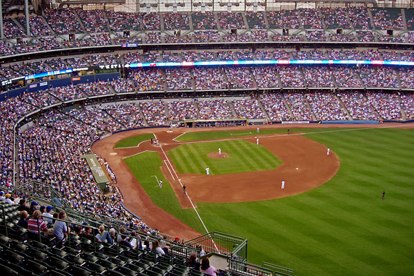 Milwaukee Brewers Bedroom In A Box Major League Baseball: Photos Of Sports Stadiums And Arenas From The Worlds Major